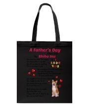 Poem From Shiba Inu Tote Bag thumbnail