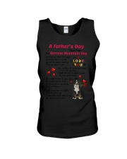 Poem From Bernese Mountain Dog Unisex Tank thumbnail