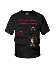 Poem From Bernese Mountain Dog Youth T-Shirt thumbnail