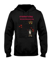 Poem From Bernese Mountain Dog Hooded Sweatshirt thumbnail