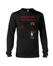 Poem From Bernese Mountain Dog Long Sleeve Tee thumbnail