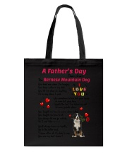 Poem From Bernese Mountain Dog Tote Bag thumbnail