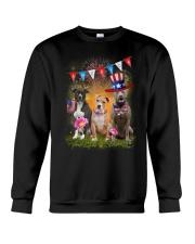 American Pit Bull Terrier America Crewneck Sweatshirt thumbnail