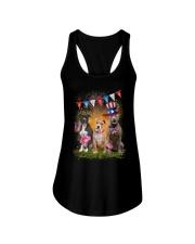 American Pit Bull Terrier America Ladies Flowy Tank thumbnail