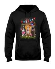 American Pit Bull Terrier America Hooded Sweatshirt thumbnail