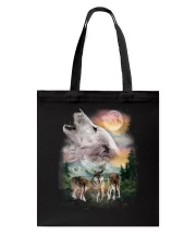 Wolf Wild Tote Bag tile
