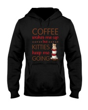 Cat Coffee Hooded Sweatshirt thumbnail