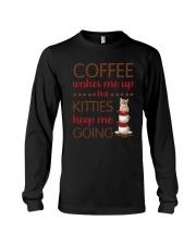 Cat Coffee Long Sleeve Tee thumbnail