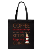 Cat Coffee Tote Bag thumbnail