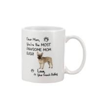 Pawsome Mom French Bulldog Mug front