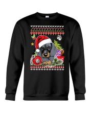 Dachshund Christmas Phoebe 018 Crewneck Sweatshirt thumbnail