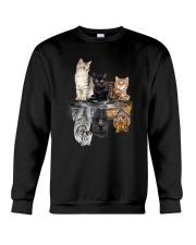 Cats Dreaming Phoebe Crewneck Sweatshirt front