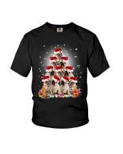 PHOEBE - Bulldog in party hat  - 0911 - E14 Youth T-Shirt thumbnail