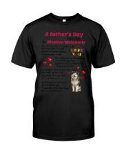 Poem From Alaskan Malamute Classic T-Shirt thumbnail