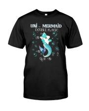 Unicorn Mermaid Classic T-Shirt thumbnail