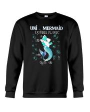 Unicorn Mermaid Crewneck Sweatshirt thumbnail
