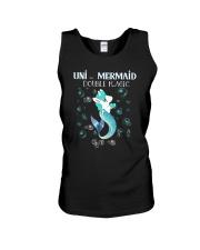 Unicorn Mermaid Unisex Tank thumbnail