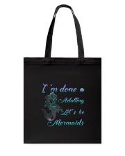 Mermaid Adult Tote Bag thumbnail