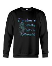 Mermaid Adult Crewneck Sweatshirt thumbnail