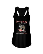 Everythings Beauty Wolf Ladies Flowy Tank thumbnail