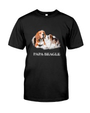 Papa Beagle Classic T-Shirt front