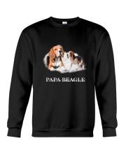 Papa Beagle Crewneck Sweatshirt thumbnail