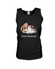 Papa Beagle Unisex Tank thumbnail