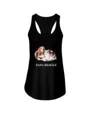 Papa Beagle Ladies Flowy Tank thumbnail