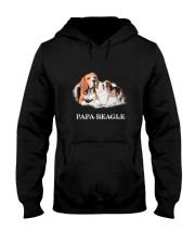 Papa Beagle Hooded Sweatshirt thumbnail