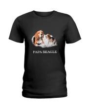 Papa Beagle Ladies T-Shirt thumbnail