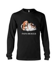Papa Beagle Long Sleeve Tee thumbnail