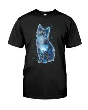 Cat Galaxy Classic T-Shirt front