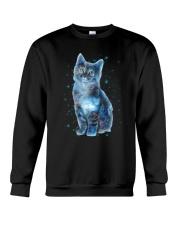 Cat Galaxy Crewneck Sweatshirt thumbnail