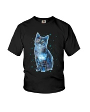 Cat Galaxy Youth T-Shirt thumbnail