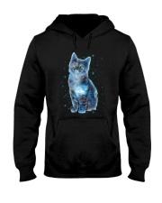 Cat Galaxy Hooded Sweatshirt thumbnail
