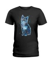 Cat Galaxy Ladies T-Shirt thumbnail