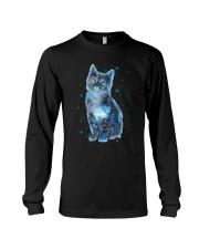 Cat Galaxy Long Sleeve Tee thumbnail