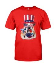 Independence Day Bulldog Classic T-Shirt thumbnail