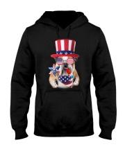 Independence Day Bulldog Hooded Sweatshirt thumbnail
