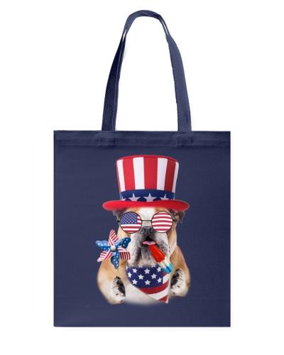 Independence Day Bulldog