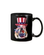 Independence Day Bulldog Mug thumbnail