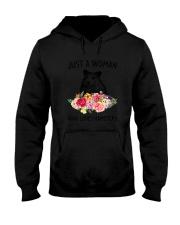 Just A Woman Hamster Hooded Sweatshirt thumbnail