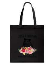 Just A Woman Hamster Tote Bag thumbnail