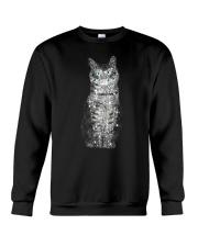 Cat Bling Xmas Crewneck Sweatshirt front