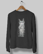 Cat Bling Xmas Crewneck Sweatshirt lifestyle-unisex-sweatshirt-front-10