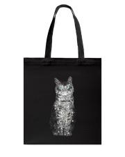 Cat Bling Xmas Tote Bag thumbnail