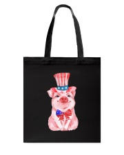 Pig America Tote Bag thumbnail