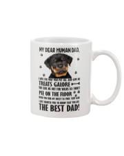 Human Dad Rottweiler Mug thumbnail