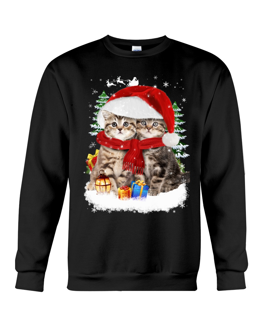 Cats Friendship  Crewneck Sweatshirt