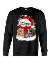 Cats Friendship  Crewneck Sweatshirt front